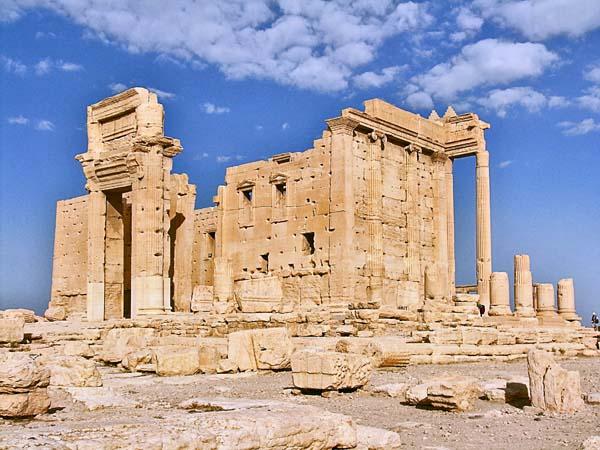 Palmira asediada por Estado Islámico