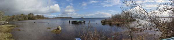 lago corbin panoramica